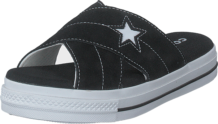 Converse - One Star Sandal Black/black/white