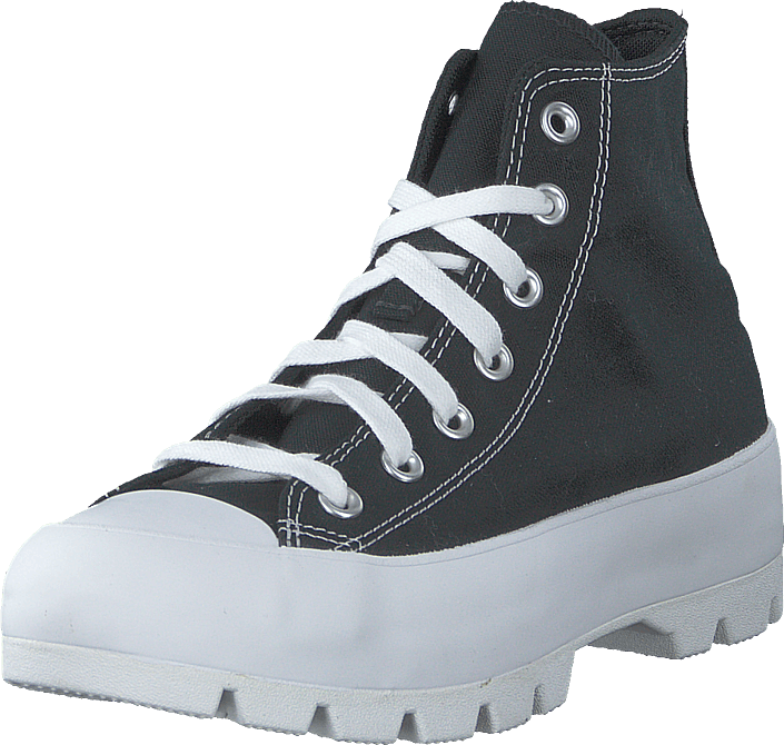 Chuck Taylor All Star Lugged Black/white/black