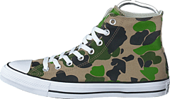 Chuck Taylor All Star Camo Black/candied Ginger/white