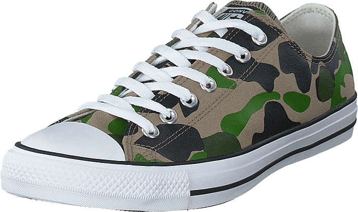 Converse - Chuck Taylor All Star Camo Black/candied Ginger/white