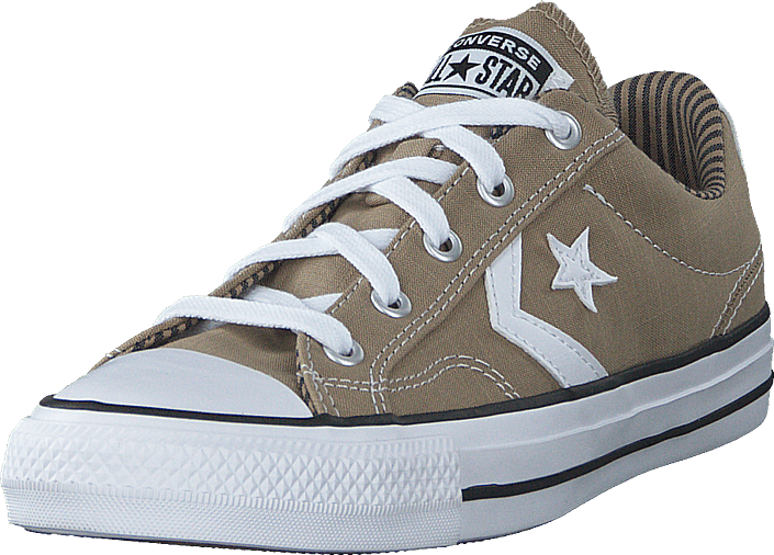 Converse - Star Player Canvas Khaki/obsidian/white