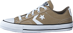 Star Player Canvas Khaki/obsidian/white