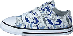 Chuck Taylor All Star 1v Shark Photon Dust/rush Blue/white
