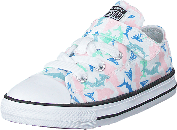 Converse - Chuck Taylor All Star 1v Shark White/fresh Mint/black