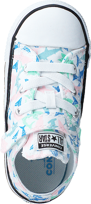 Chuck Taylor All Star 1v Shark White/fresh Mint/black