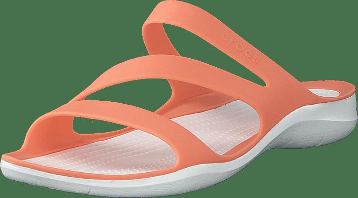 Crocs - Swiftwater Sandal W Grapefruit/white