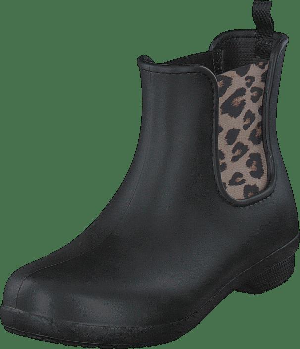Crocs Freesail Chelsea Boot W Leopard/black