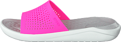 Literide Slide Electric Pink/almost White