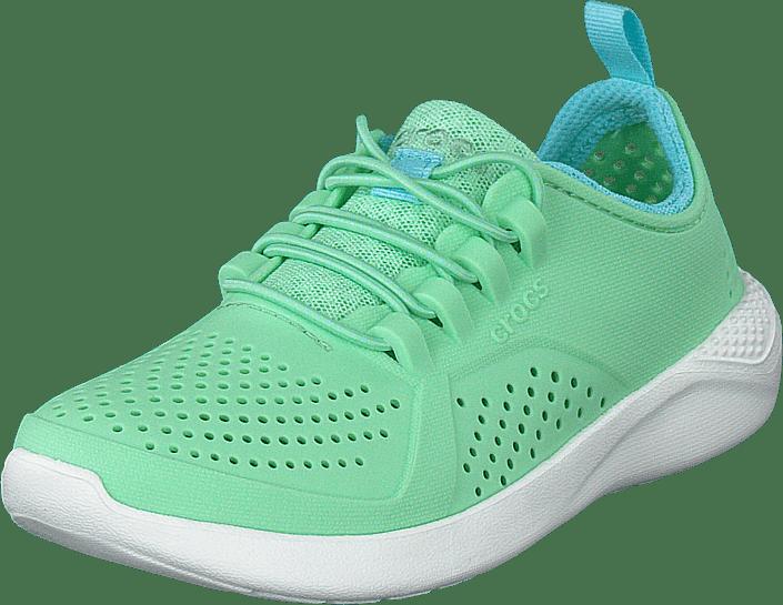 Crocs - Literide Pacer K Neo Mint/white