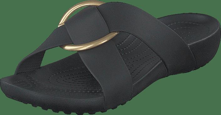 Crocs - Crocs Serena Cross Band Slde W Black