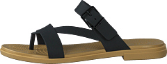 Crocs Tulum Toe Post Sandal W Black/tan