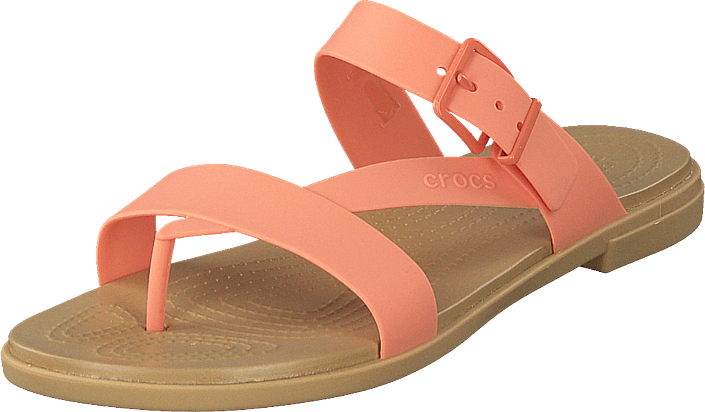 Crocs - Crocs Tulum Toe Post Sandal W Grapefruit/tan
