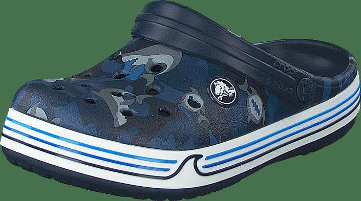 Crocband Shark Clog Ps Navy