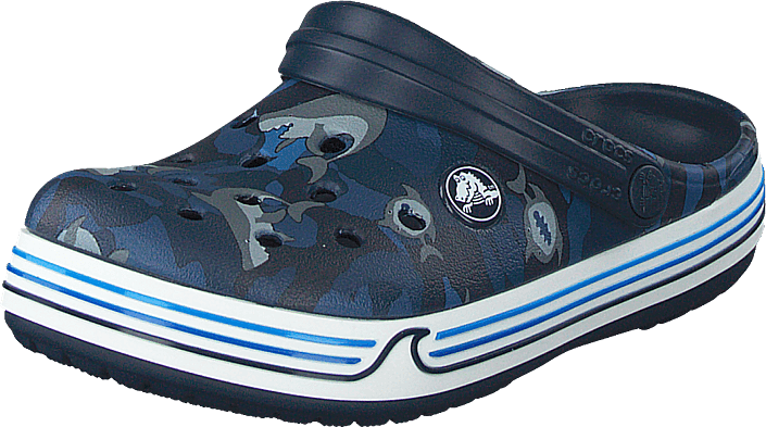 Crocs - Crocband Shark Clog Ps Navy