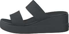 Crocs Brooklyn Mid Wedge W Black/black