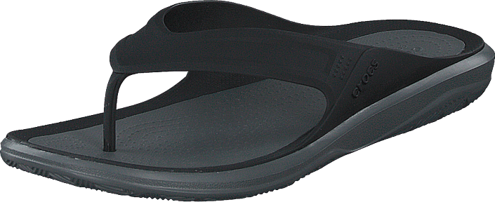 Crocs - Swiftwater Wave Flip M Black/slate Grey