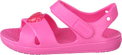 Classic Cross Strap Sandal Ps Pink Lemonade