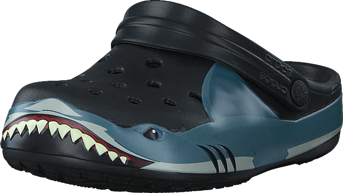 Crocs - Crocs Fun Lab Shark Band Clg K Black