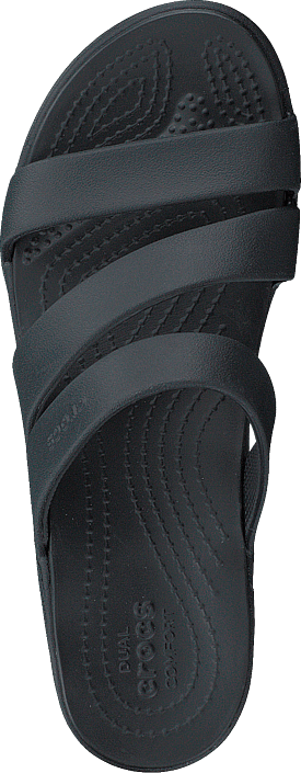 Crocs Monterey Wedge W Black