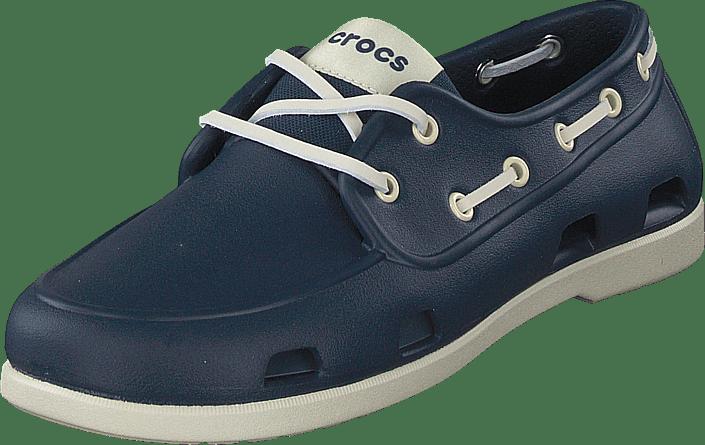 Crocs - Classic Boat Shoe M Navy/stucco