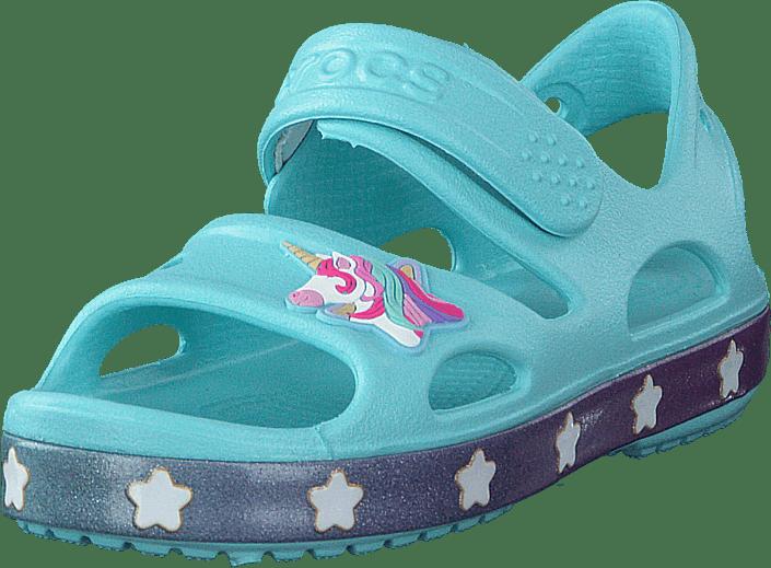 Crocs - Crocsfl Unicorn Charm Sandal G Ice Blue