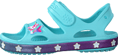 Crocsfl Unicorn Charm Sandal G Ice Blue