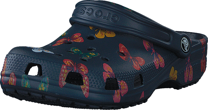 Crocs - Classic Vacay Vibes Clog Butterfly