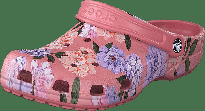 Crocs - Classic Printed Floral Clog Blossom