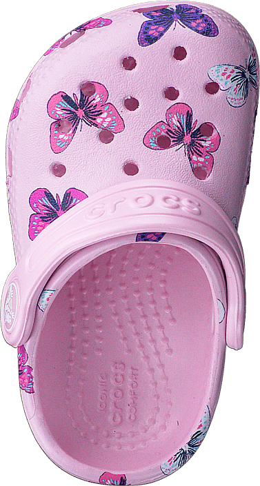Classic Butterfly Clog Ps Ballerina Pink