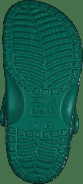 Classic Sport Ball Clog Ps Deep Green