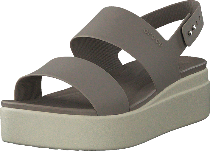 Crocs - Crocs Brooklyn Low Wedge W Mushroom/stucco