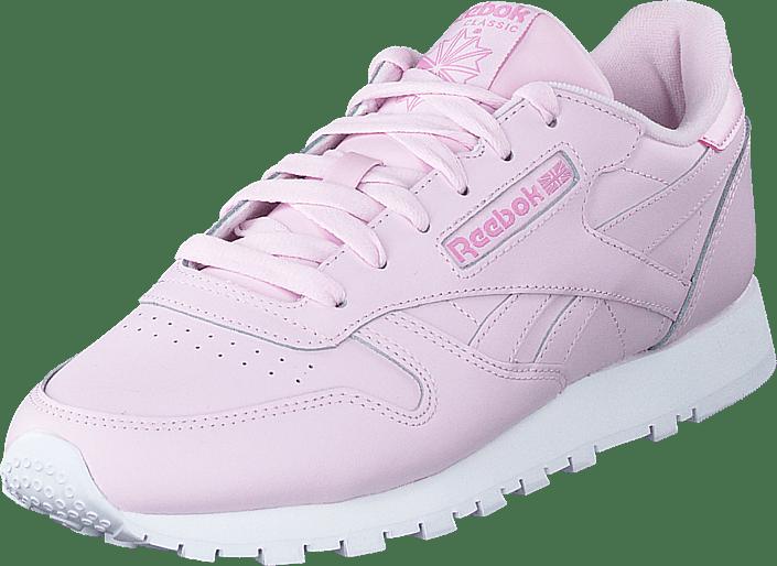 Cañón más Más que nada  Buy Reebok Classic Cl Lthr Pixel Pink/white/jasmine Pink Shoes ...
