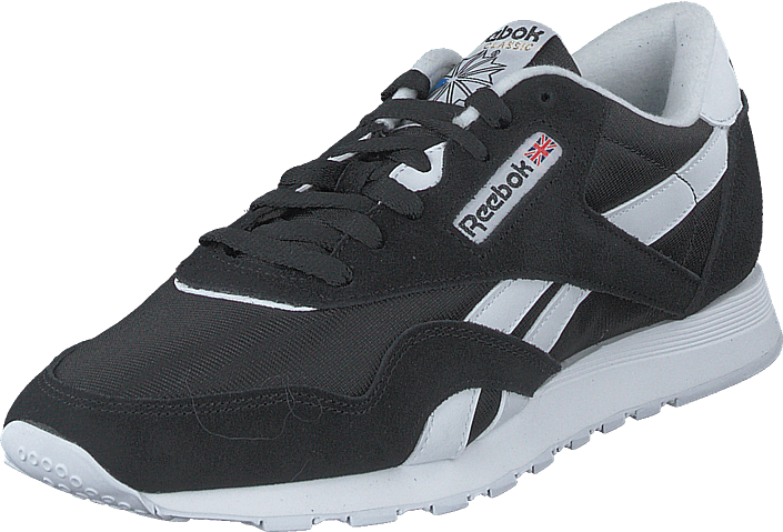 Reebok Classic - Cl Nylon Black/white/none