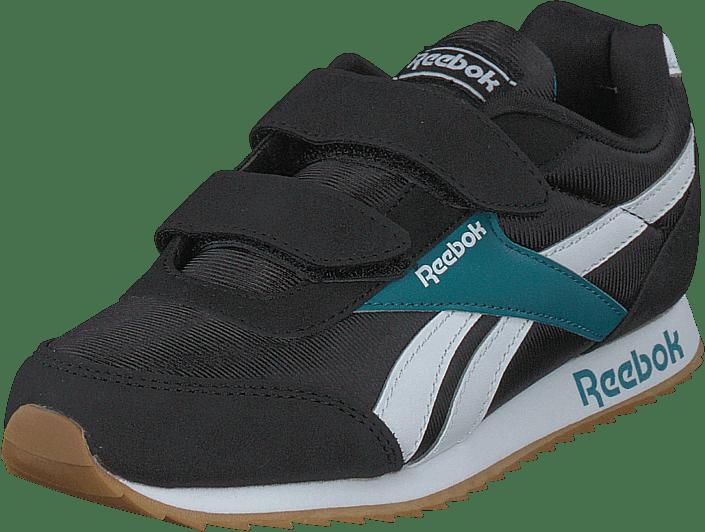 Reebok Classic - Reebok Royal Cljog 2 2v Black/seaport Teal/white