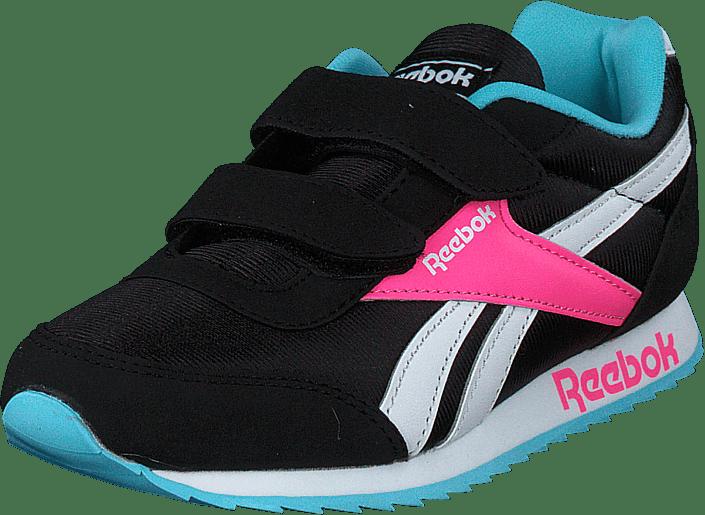 Reebok Classic - Reebok Royal Cljog 2 2v Black/neon Blue/solar Pink