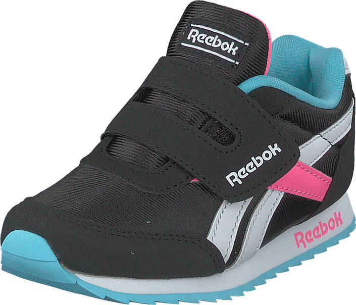 Reebok Classic - Reebok Royal Cljog 2 Kc Black/neon Blue/solar Pink