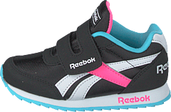 Reebok Royal Cljog 2 Kc Black/neon Blue/solar Pink