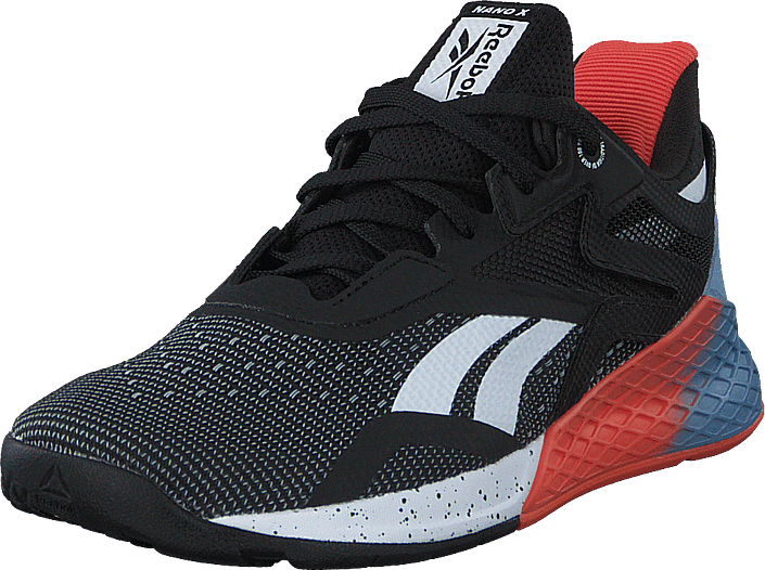 Reebok - Nano X Black/white/vivid Orange