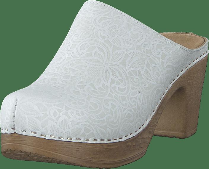 Calou - Lisa Embossed White