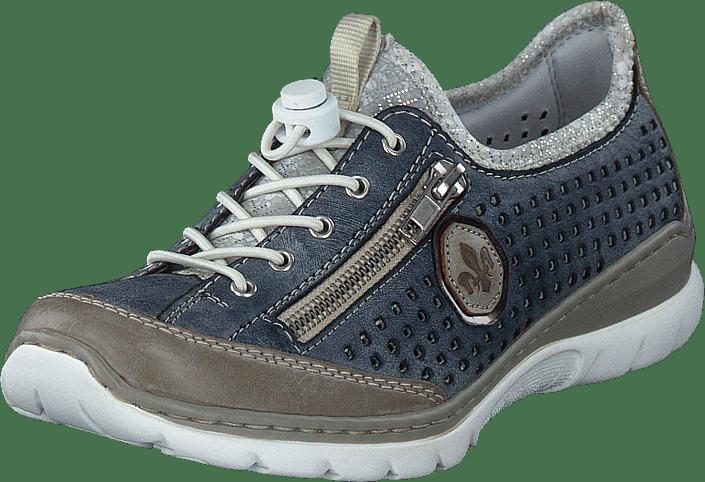 Rieker - L3296-42 Steel/jeans