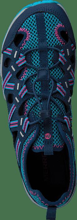 Acheter Merrell Hydro Choprock Shandal Navy/turq Chaussures Online