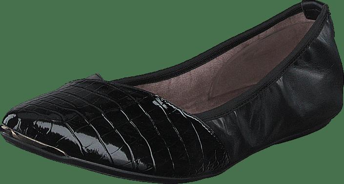 Butterfly Twists - Ivy Black Patent Croc