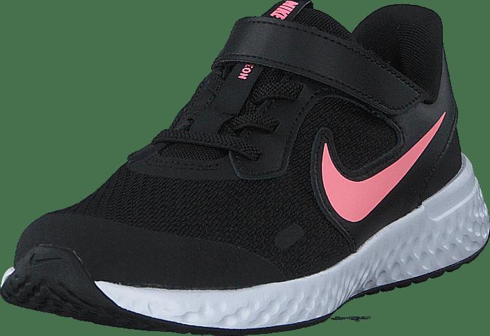Nike - Revolution 5 (psv) Black/sunset Pulse