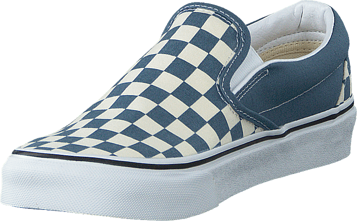 Vans - Ua Classic Slip-on (checkerboard) Blue Mirage/tru