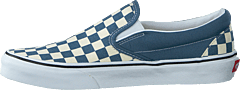 Ua Classic Slip-on (checkerboard) Blue Mirage/tru