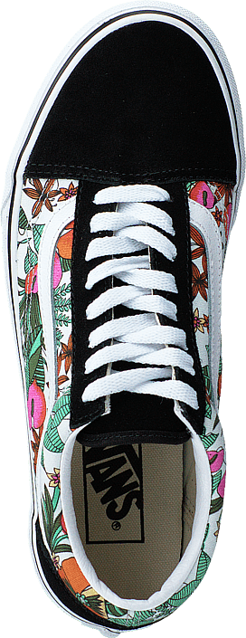Ua Old Skool (multi Tropic) Black/true Whit