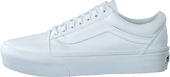 Ua Old Skool Platform True White