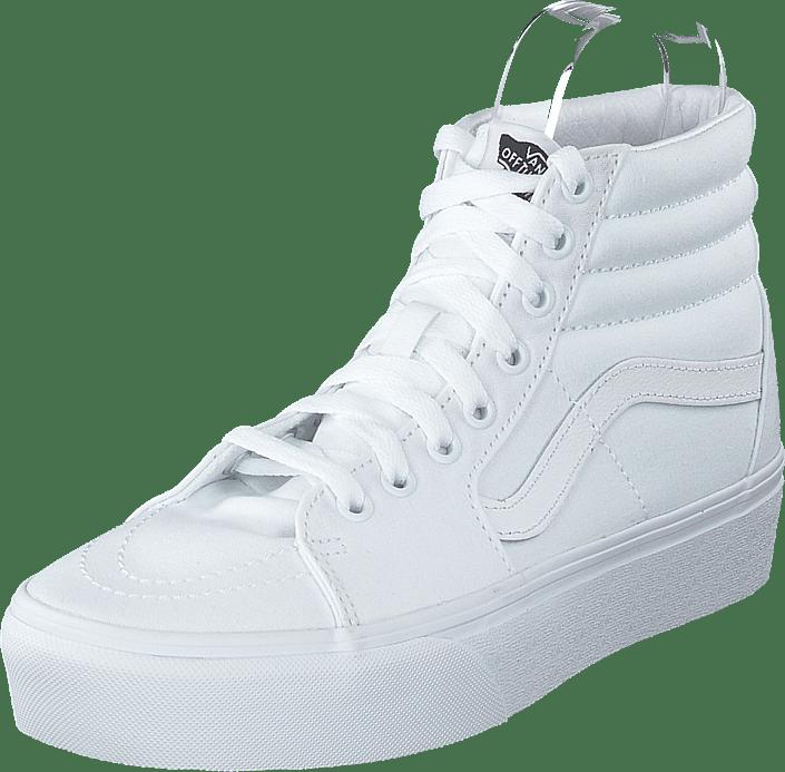 Vans - Ua Sk8-hi Platform 2.0 True White/true White