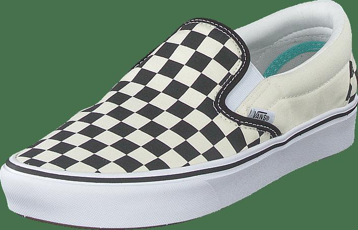 Ua Comfycush Slip-on (classic) Checkerboard/true Wh