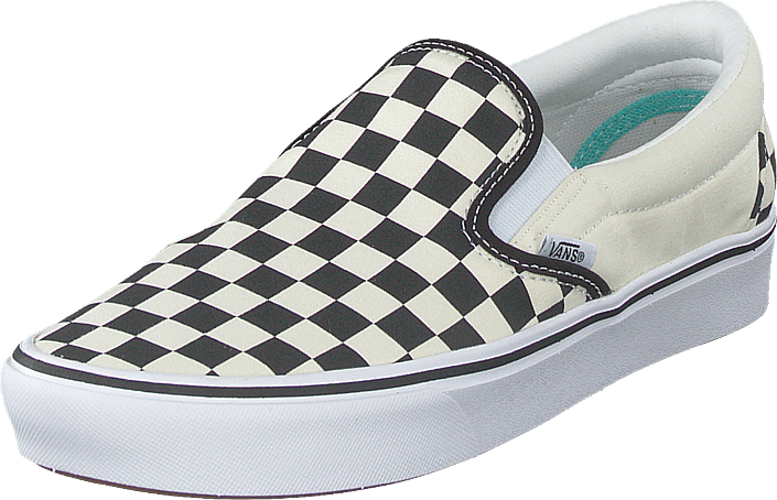 Vans - Ua Comfycush Slip-on (classic) Checkerboard/true Wh